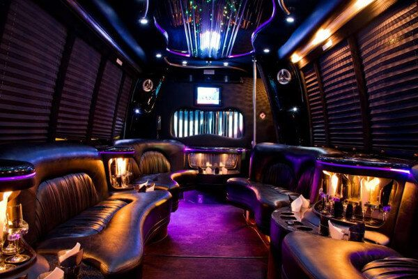 15 Person Party Bus Rental New Orleans