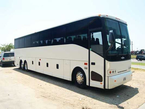 New Orleans 56 Passenger Charter Bus